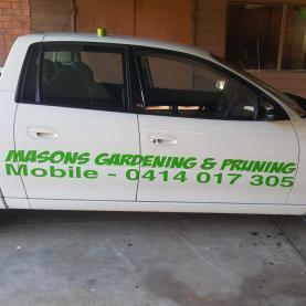 Masons gardening and pruning