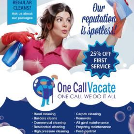 One call vacate