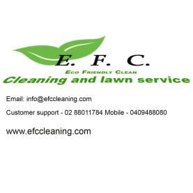 Efc cleaning and lawn service